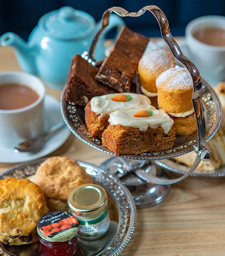 The Cartshed Afternoon Tea