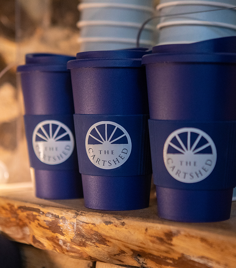 The Cartshed-reusable coffee cups